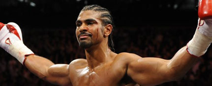 Boxing, David Haye