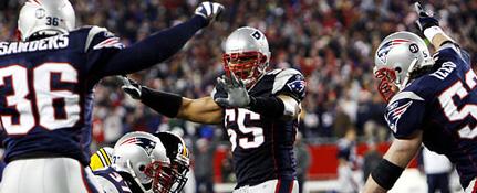 NFL betting odds Patriots