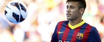 Barcelona football player Neymar