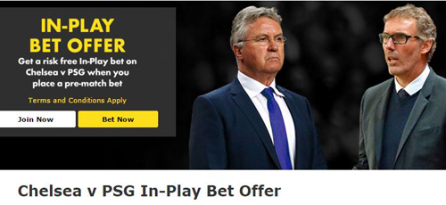 Chelsea-PSG-Free-bets