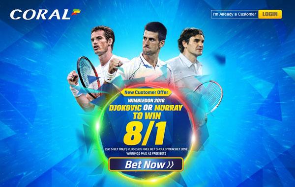 Coral-Wimbledon-Offer
