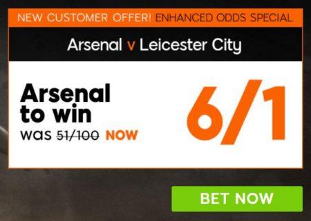 Arsenal v Leicester