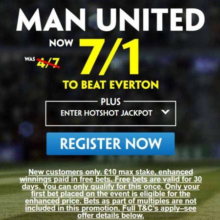 Man Utd v Everton