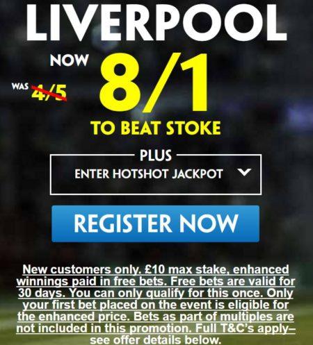 Stoke vs Liverpool