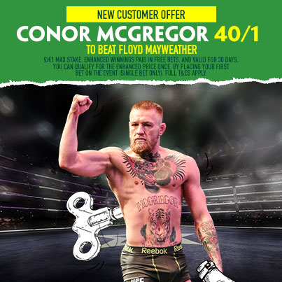 McGregor at Betfinder