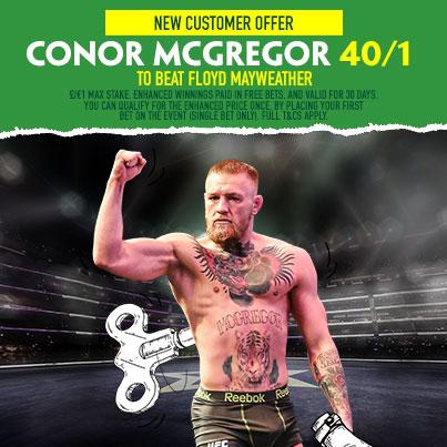 McGregor at Betfinder