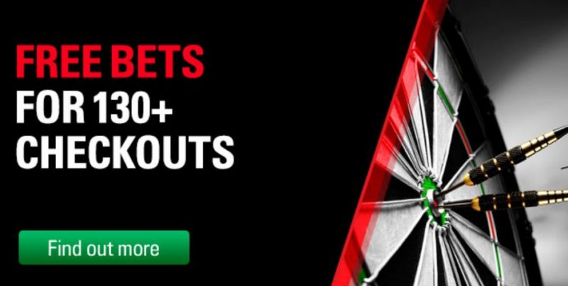 Free Darts Bets from Betstars