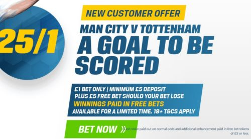 Man City v Spurs