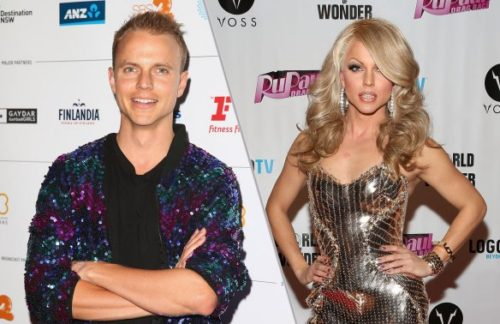 Celebrity Big Brother - Courtney Act Shane