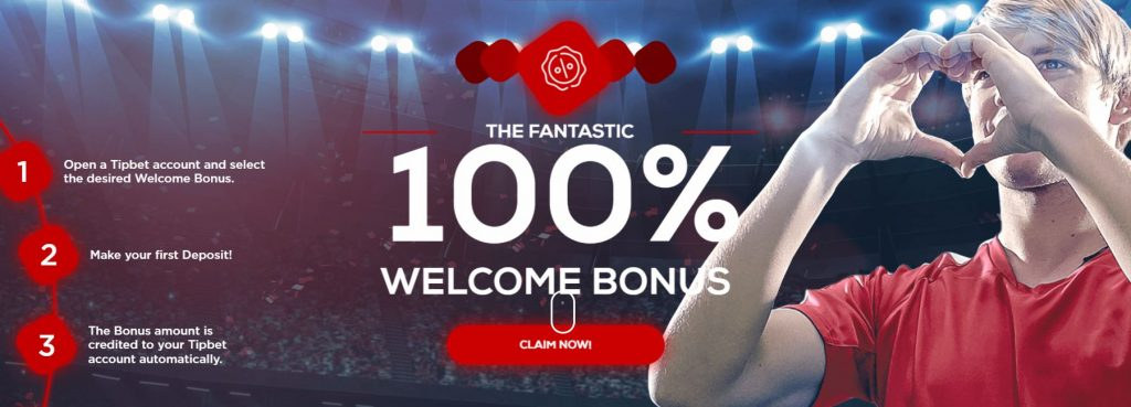 TipBet 100% Free Bet Welcome Offer