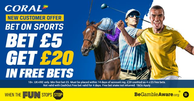 Coral Sports Betting Offer