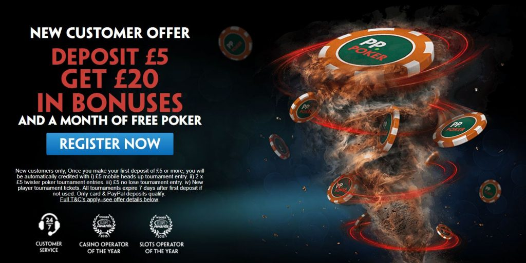Paddy Power Poker Betting Offer