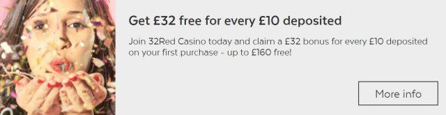32Red Casino Betting