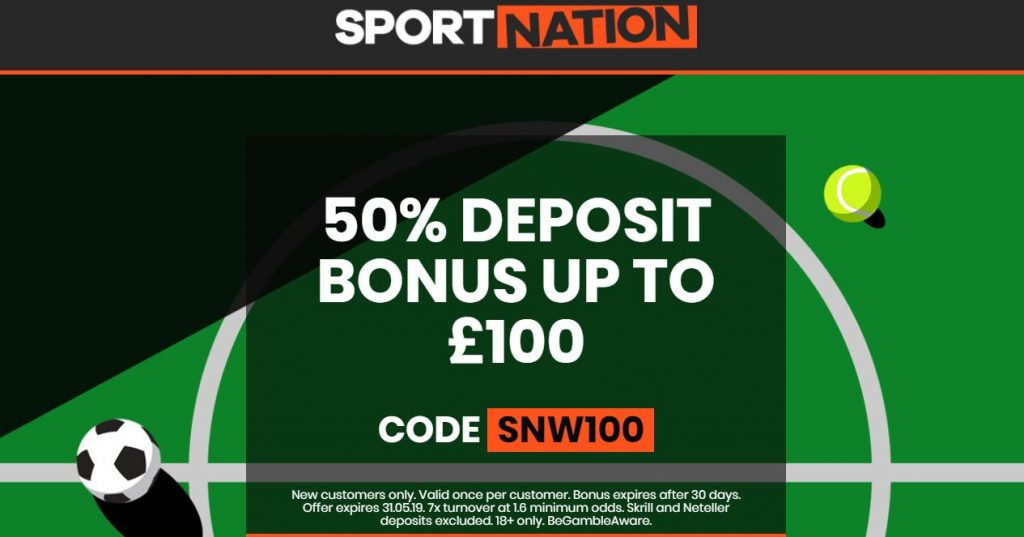 Sport Nation Betting Offer