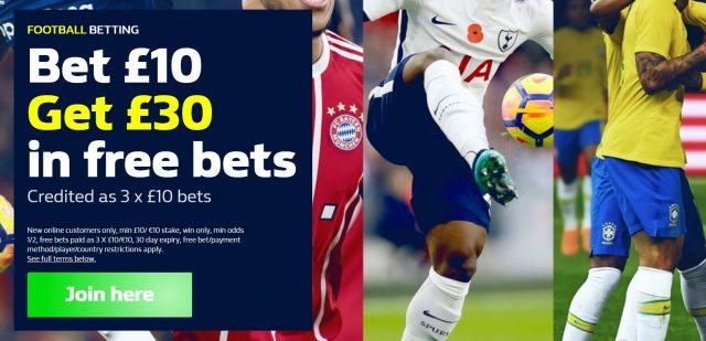 William Hill New Customer Special