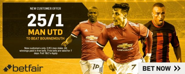 Man Utd Betting Offer