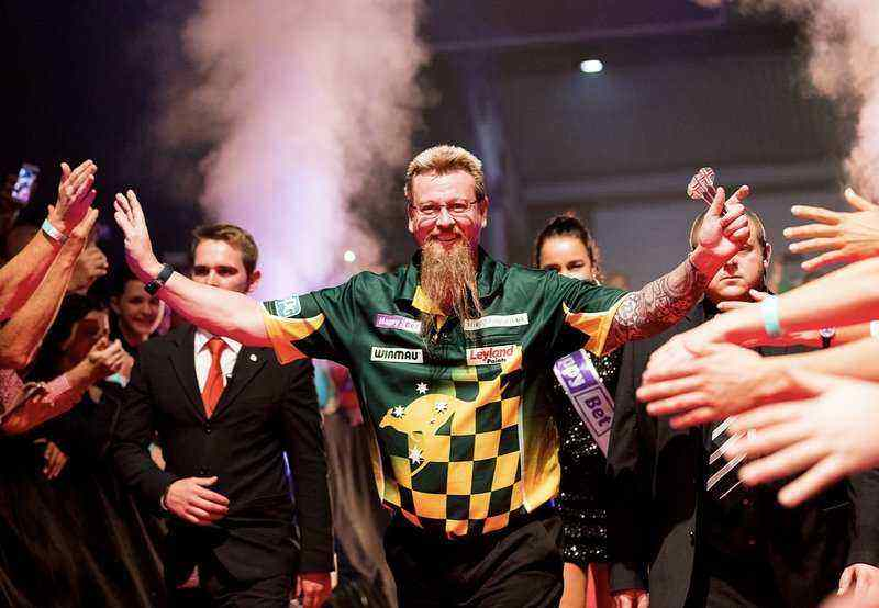 Darts Betting - Simon Whitlock