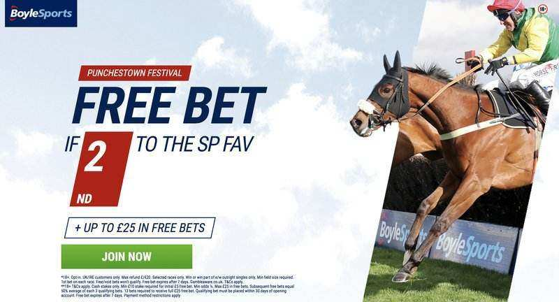 Boylesports Punchestown Festival betting offer