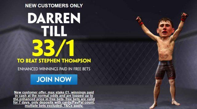 UFC Betting Offer