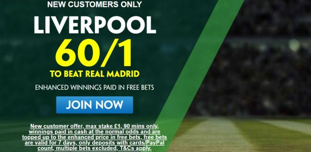 Liverpool Betting Offer