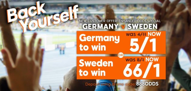 Germany v Sweden Betting