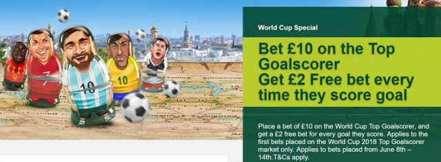 World Cup Free Bet