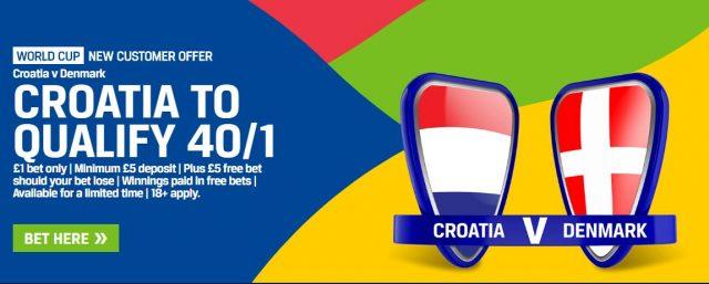 Croatia v Denmark Betting Prediction