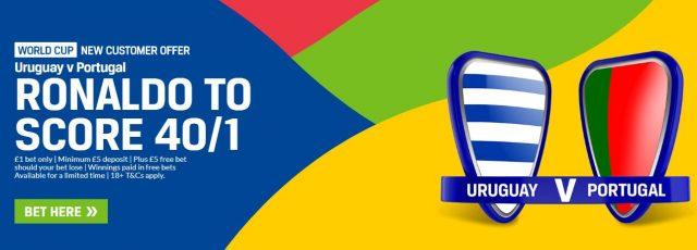Uruguay v Portugal Betting Tip