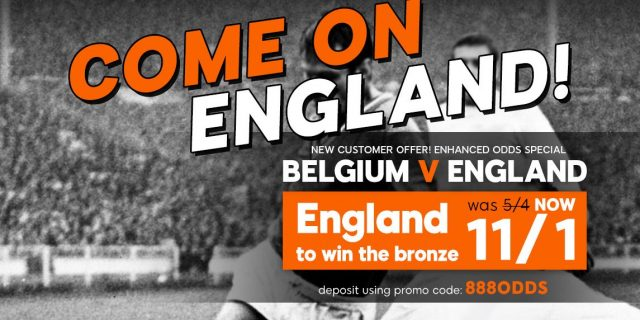 England To Win Betting Offer