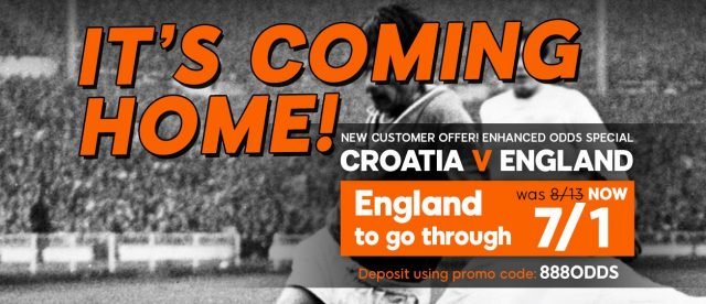 England v Croatia betting prediction
