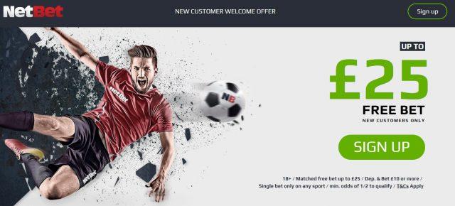 NetBet Free Bet Sports