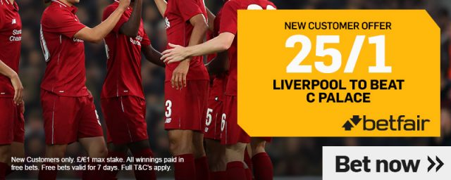Premier League Liverpool Betting Offer