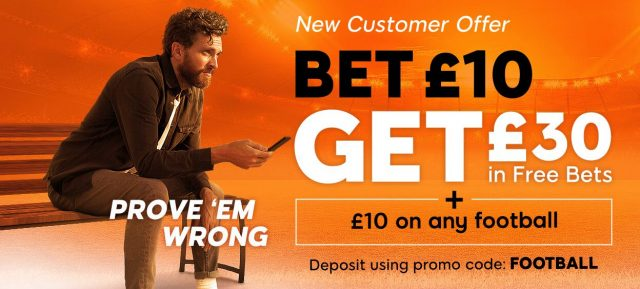 Football Free Bet Offer