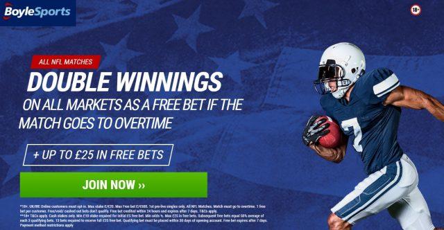 NFL Free Bet Offer