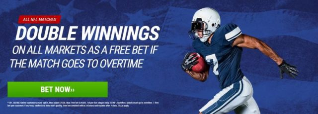 NFL Free Bet Offer