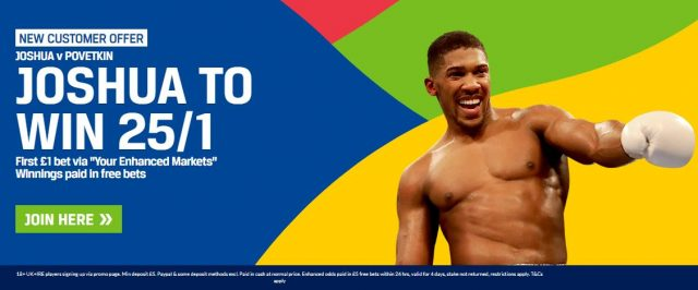 Anthony Joshua Betting