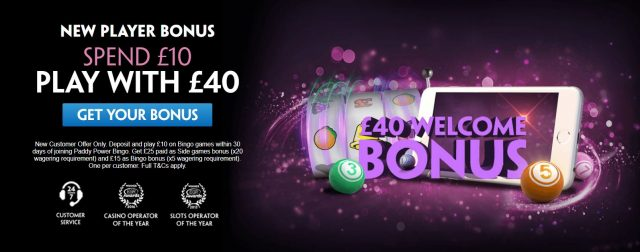 Bingo Bonus Betting Offer