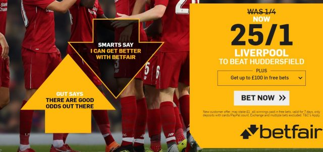 Liverpool FC Betting Offer