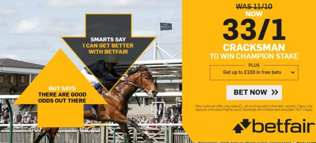 Champion Stakes Betting Offer