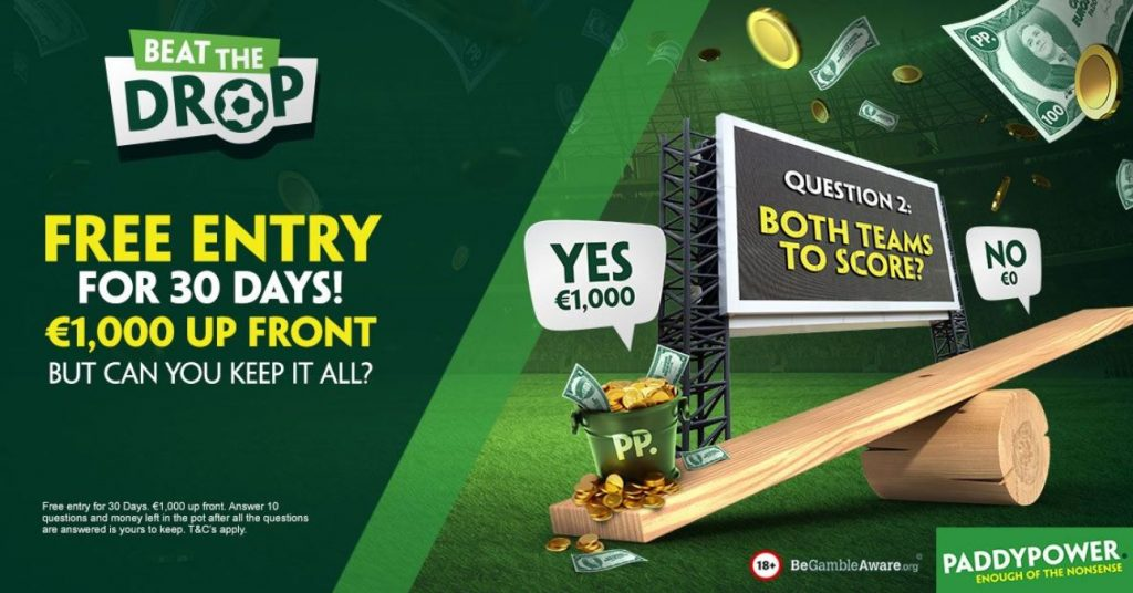 Paddy Power Football Competition