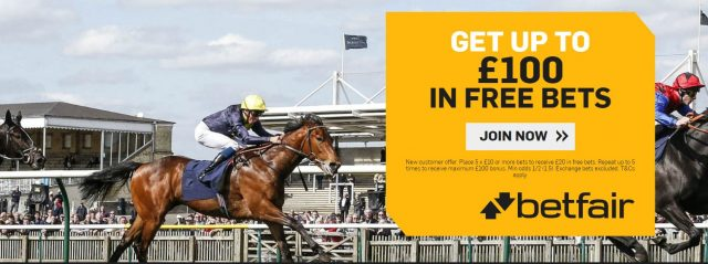 Betfair Racing Free Bet Offer