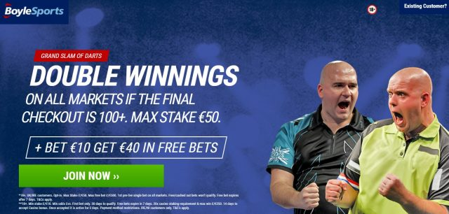 Darts Betting Offer