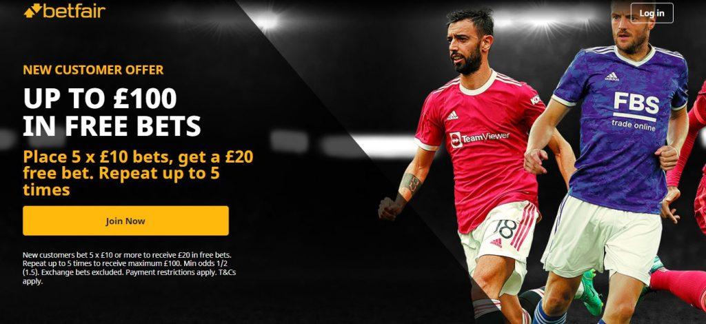 Betfair Sports Free Bet Offer