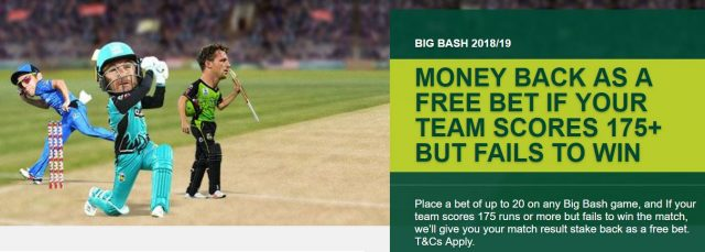 Big Bash Cricket matches