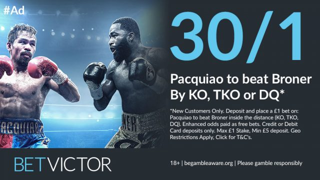 Pacquiao Boxing Offer