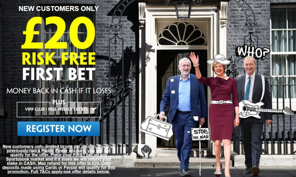 BREXIT Risk Free Betting Offer