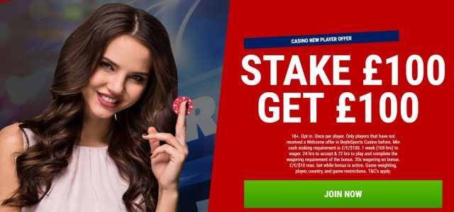 Casino New Player Offer