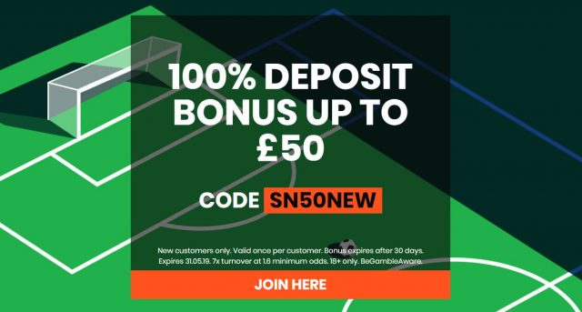 Sport Nation Bonus Betting Offer