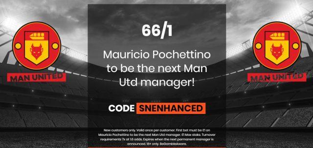 Man Utd Manager Betting