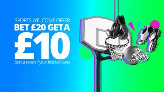 Sports Free Bet Welcome Offer